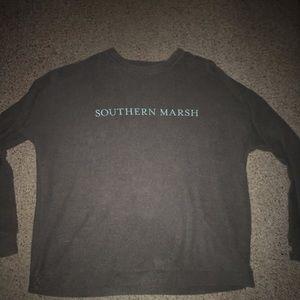 Southern Marsh sweatshirt with thumbholes
